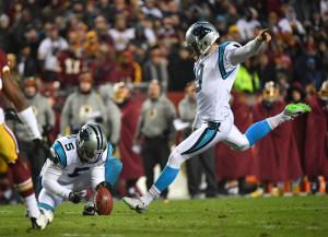 Graham Gano: Panthers kicker ruins kickball game