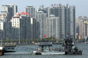 Chinese border city seeing surge in North Korea trade, activity