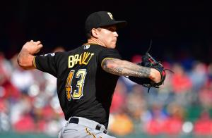 Pirates pitcher Steven Brault sings national anthem before Brewers game