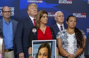 Trump addresses crime by undocumented immigrants