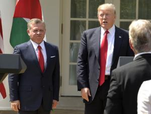 Trump hosts Jordan's King Abdullah before heading to S.C. rally
