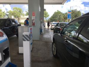 The direction for U.S. retail gas prices is unclear