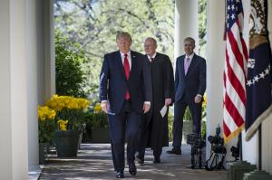 Favorites emerge from Trump's candidates for Supreme Court vacancy