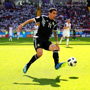 World Cup: Argentina's Di Maria ties first half with France on 30-yard blast