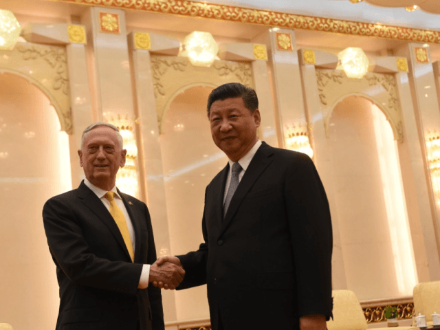 Secretary of Defense Jim Mattis met with Chinese President Xi …