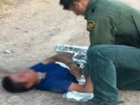 Border Patrol Agents Save Life of Migrant Lost near Texas Border