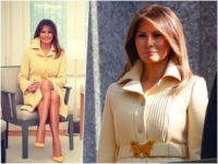 Fashion Notes: Melania Trump is a Gucci Butterfly Beauty for Helsinki Summit