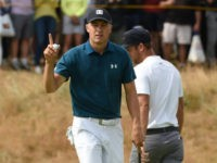 Spieth Aims to Retain British Open Title But Woods Lurks