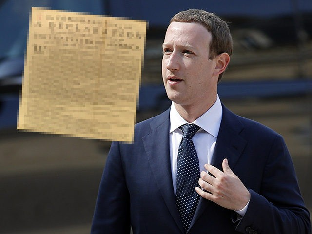 Facebook Algorithms Deemed Declaration of Independence Hate Speech