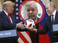 Lindsey Graham Worries Putin Bugged Soccer Ball Gift to Trump