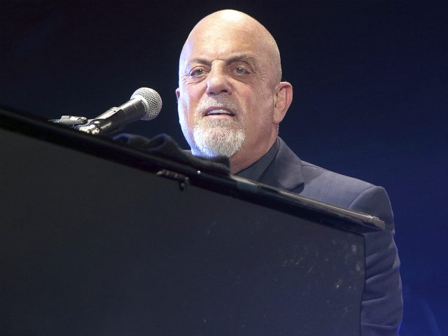 In this July 25, 2015, file photo, singer-songwriter Billy Joel performs in concert at M&T Bank Stadium in Baltimore. Joel is supporting a crowdfunding campaign for a local documentary examining the plight of Oyster Bay's natural shell fishermen. Newsday reported the Rock and Roll Hall of Famer has key roles …