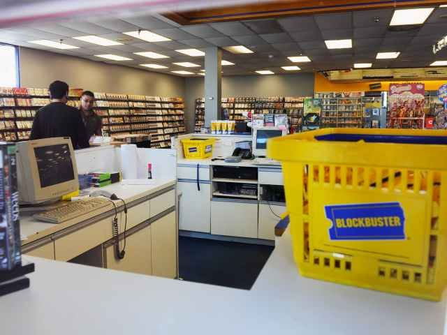 Blockbuster Video down to one USA  store