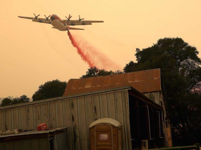 California fire (Justin Sullivan / Getty)