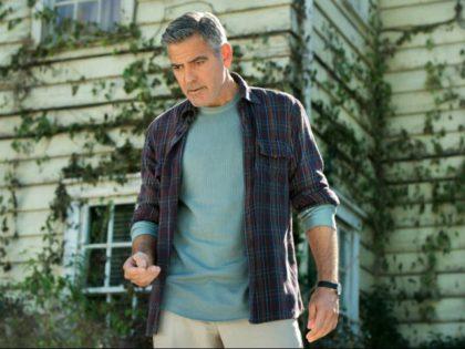 George Clooney in Tomorrowland (2015) Titles: Tomorrowland People: George Clooney © 2015 - Disney Enterprises Inc.