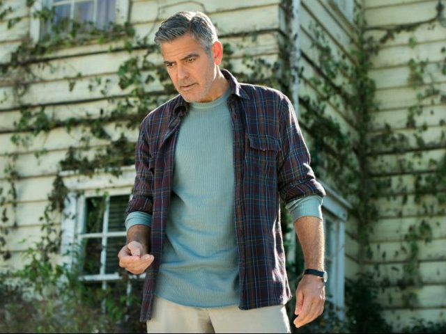 George Clooney in Tomorrowland (2015) Titles: Tomorrowland People: George Clooney © 2015 - Disney Enterprises Inc.