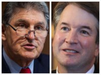 Manchin and Kavanaugh combo photo