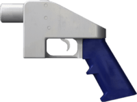 """The Liberator"" is one of the 3D printed gun designs offered by Defense Distributed"