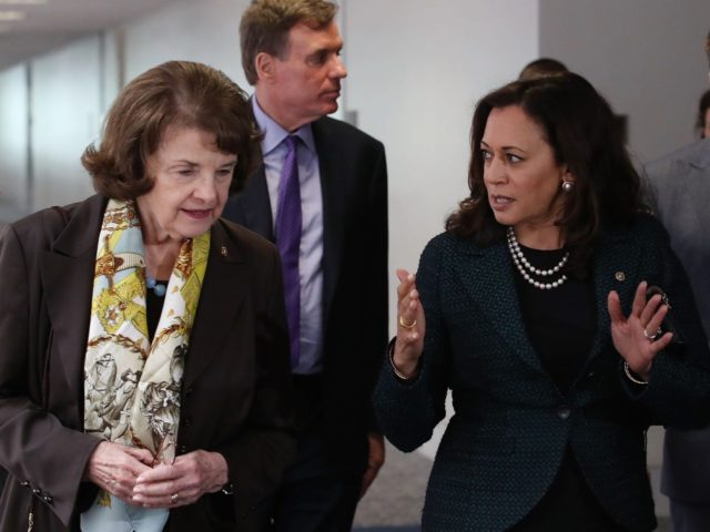 Dianne Feinstein and Kamala Harris (Mark Wilson / Getty)
