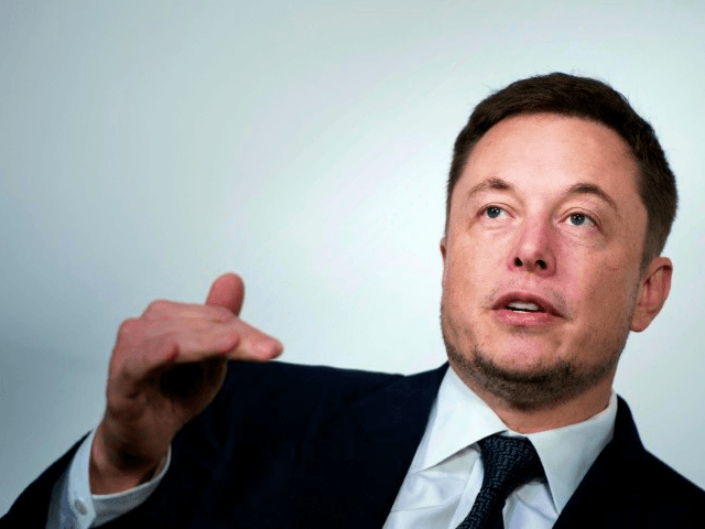 Tesla CEO Elon Musk lamented reports focusing on the dangers of autonomous driving technology instead of the safety benefits AFP/File Brendan Smialowski