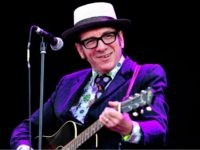 Elvis Costello performs during day 3 of the Hard Rock Calling festival held in Hyde Park on June 27, 2010 in London, England. (Photo by Gareth Cattermole/Getty Images)