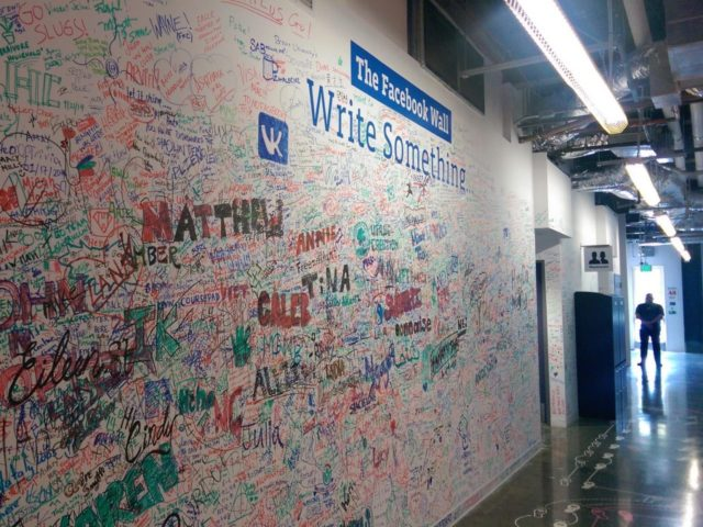 Facebook wall (René C. Nielsen / Flickr / CC / Cropped)