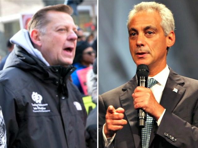 Father Michael Pfleger, Rahm Emanuel