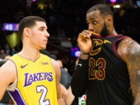 LeBron and Lonzo