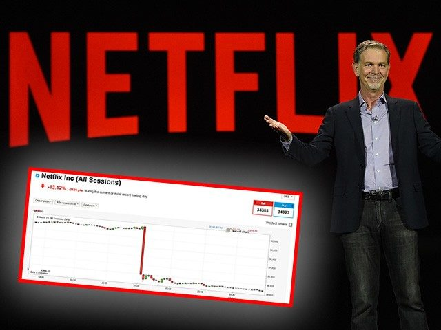 LAS VEGAS, NV - JANUARY 06: Netflix CEO Reed Hastings delivers a keynote address at CES 2016 at The Venetian Las Vegas on January 6, 2016 in Las Vegas, Nevada. CES, the world's largest annual consumer technology trade show, runs through January 9 and is expected to feature 3,600 exhibitors …