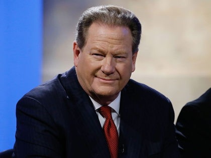 """NEW YORK, NY - FEBRUARY 03: Ed Schultz attends Hulu Presents """"Triumph's Election Special"""" produced by Funny Or Die at NEP Studios on February 3, 2016 in New York City. (Photo by John Lamparski/Getty Images for Hulu)"""