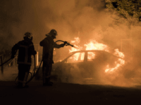 Far-Left Antifa Anarchists Take Credit for Setting French MP's Car on Fire
