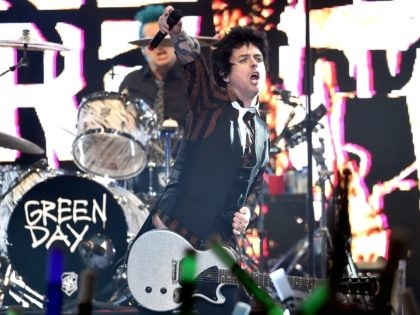 Billie Joe Armstrong of the band Green Day performs onstage at 106.7 KROQ Almost Acoustic Christmas 2016 - Night 2 at The Forum on December 11, 2016 in Inglewood, California. (Photo by Kevin Winter/Getty Images for CBS Radio)