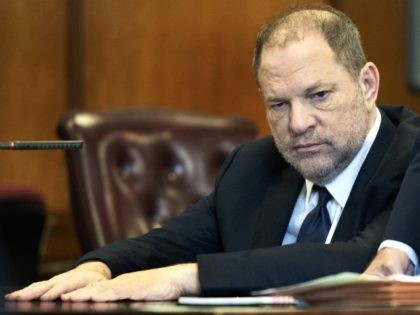 Harvey Weinstein appears in court in New York, Tuesday, June 5, 2018. Weinstein pleaded not guilty to rape and criminal sex act charges in a brief hearing Tuesday before a judge and his lawyer vowed afterward to try and beat the case even before it goes to trial. (Steven Hirsch/New …