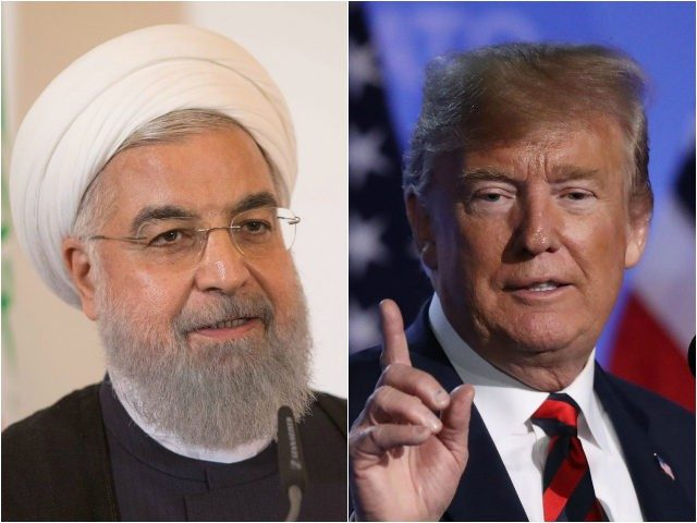 U.S. warns Iran not to threaten them or the Iranian people