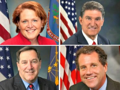 Heitcamp, Manchin, Jones, Donnelly