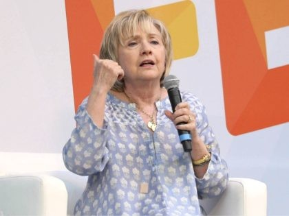 "John Nacion/STAR MAX/IPx 2018 7/21/18 Hillary Clinton at ""Ozy Fest 2018"" in Central Park in New York City."