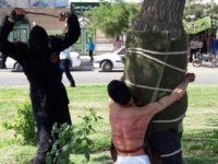 Iran public flogging