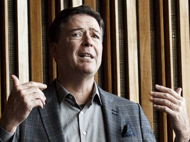 James Comey (Carsten Koall / Getty)