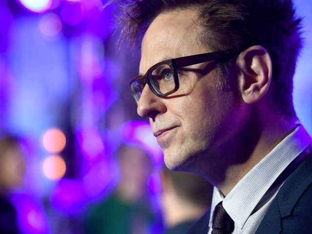 Director James Gunn attends the European launch event of Marvel Studios' 'Guardians of the Galaxy Vol. 2.' at the Eventim Apollo on April 24, 2017 in London, England. (Photo by Ian Gavan/Getty Images for Disney)