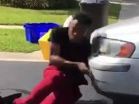 "Jaylen Norwood of Florida attempted the ""In My Feelings"" challenge and got knocked down by a car as he was about to hop onto the vehicle's hood."