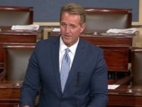 Sen. Jeff Flake (R-AZ) expressed concern in a Senate floor speech Thursday about President Donald Trump's refusal to denounce Russian election meddling during a joint press conference with President Vladimir Putin in Helsinki this week.