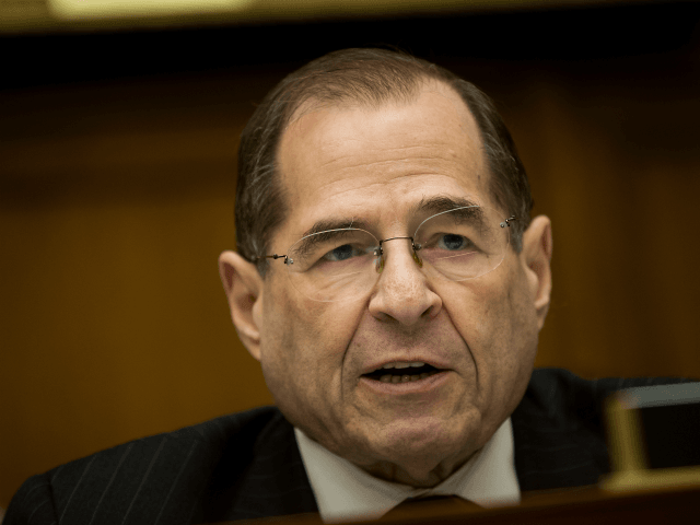 U.S. Rep. Jerrold Nadler (D-NY) speaks during a House Judiciary Subcommittee hearing on the proposed merger of CVS Health and Aetna, on Capitol Hill, February 27, 2018 in Washington, DC. CVS Health is planning a $69 billion deal to acquire Aetna, an American healthcare company. (Photo by Drew Angerer/Getty Images