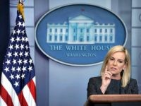 WASHINGTON, DC - JUNE 18: U.S. Secretary of Homeland Security Kirstjen Nielsen speaks on migrant children being separated from parents at the southern border during a White House daily news briefing at the James Brady Press Briefing Room of the White House June 18, 2018 in Washington, DC. Nielsen joined …