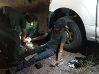 Laredo Sector BORSTAR agents provided emergency medical assistance to a migrant who was abandoned in near 100-degree heat for three days without food or water. (Photo: U.S. Border Patrol/Laredo Sector)