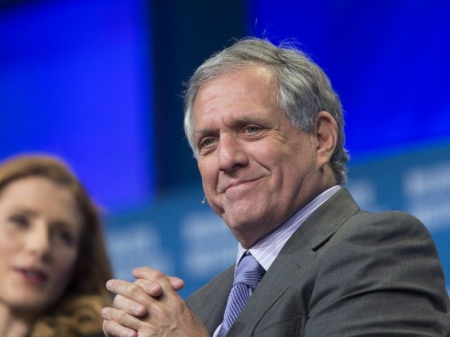 Leslie Moonves, President and CEO of CBS Corporation, attends a panel discussion at the 18th annual Milken Institute Global Conference on April 29, 2015 in Beverly Hills, California. Governor Jerry Brown spoke at the conference after issuing an executive order today to cut greenhouse gas emissions by 40 percent compared …
