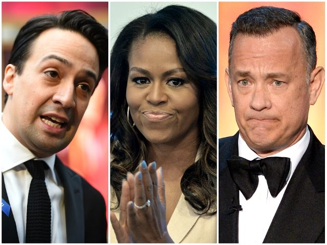 Michelle Obama Launches Voter Registration Campaign with Tom Hanks, Lin-Manuel Miranda