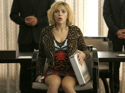 Scarlett Johansson in Lucy (Jessica Forde/Universal Pictures, 2014)