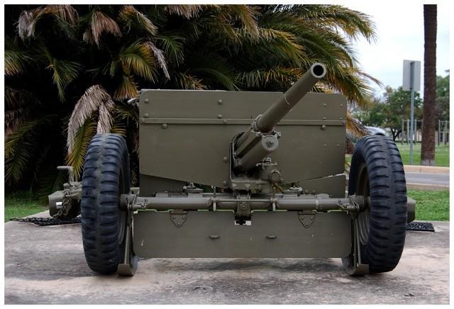 WWII-era M-3 Antitank Gun on display at Fort Sam Houston. (Photo by Peter Rimar, public domain)