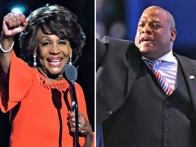 Maxine Waters,Mark Burns