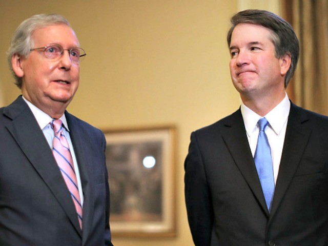 McConnell: No Doubt Kavanaugh Will Be Confirmed by End of the Month