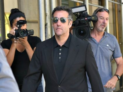 Michael Cohen, President Donald Trumps personal lawyer walks down Park Avenue in New York June 15, 2018 after leaving his hotel. - President Donald Trump's personal attorney Michael Cohen has indicated that he is willing to cooperate with federal investigators to alleviate the pressure on himself and his family.